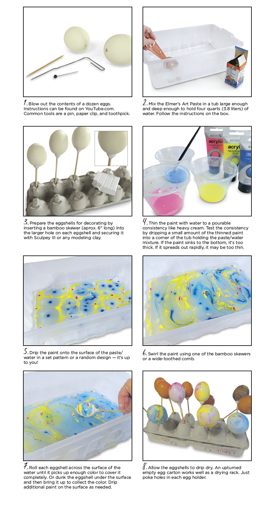 Step-By-Step Instructions for Making Eggs