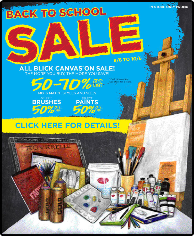 the craft mom blick art materials save now and save later