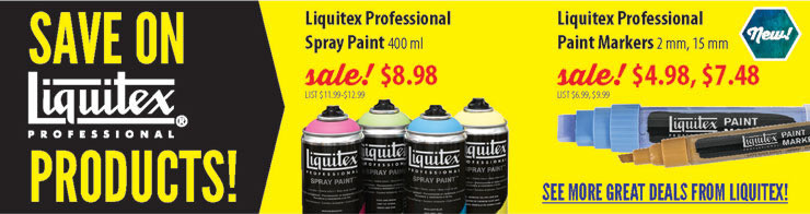 Save on Liquitex Products