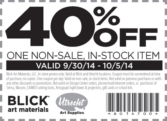 Senior art supplies discount coupon