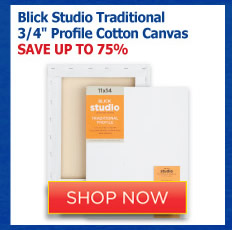 Blick Studio Traditional 3/4 Profile Cotton Canvas