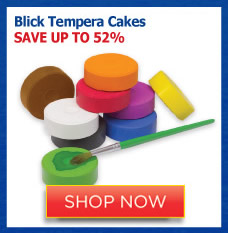Blick Tempera Cakes