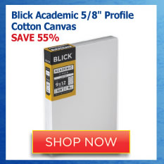 Blick Academic 5/8 Profile Cotton Canvas