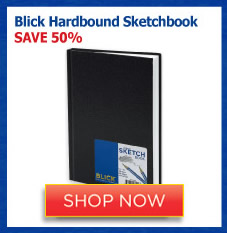 Blick Hardbound Sketchbook