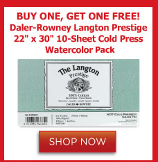 Daler Rowney Langton Prestige Watercolor Pad