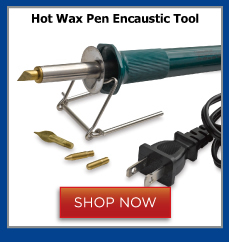 Hot Wax Pen Encaustic Tool