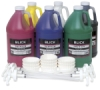 6-Color Pump Kit, Half Gallon Bottles