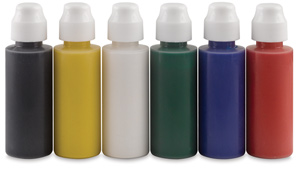 Washable Tempera Paint Daubers, Set of 6
