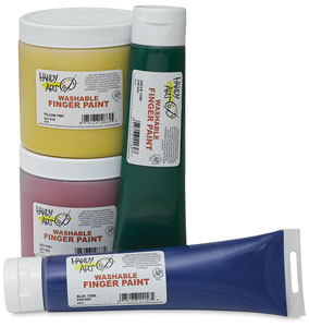 Washable Finger Paint