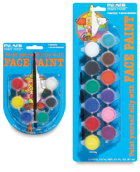 Face Paint Pots