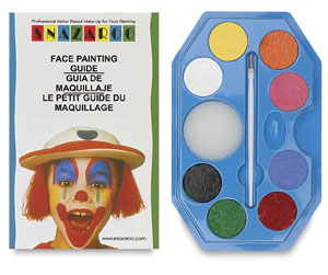 Snazaroo Face Paint Sets, Rainbow Kit, Set of 8