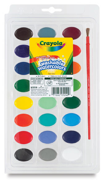24-Color Oval Set
