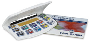 12-Pan Pocket Box with Postcards