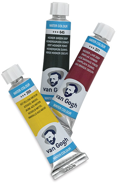 Van Gogh Watercolor Tubes