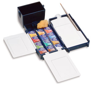 Winsor & Newton Cotman Watercolor Pan Sets, Field Box Set