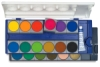 Pelikan Watercolor and Gouache &lt;nobr>Pan Sets&lt;/nobr>