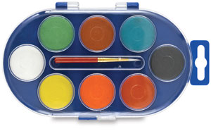 Watercolor Pans, Set of 8