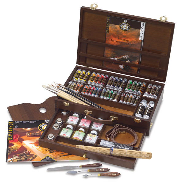Rembrandt oil colour box Excellent