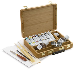 Artists' Oil Colors Bamboo Set