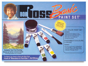 What Colors Did Bob Ross Paint With