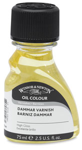 Dammar Varnish, Glass Bottle
