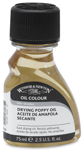 Drying Poppy Oil