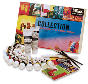 Liquitex Heavy Body Artist Acrylic Sets, Artist Acrylic Collection Set of 12 Tubes