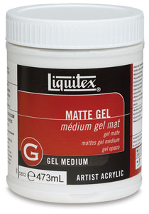 Gel Medium, Matte