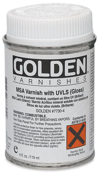 MSA Varnish, 4 oz Can