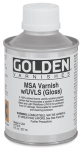 MSA Varnish, 8&amp;nbsp;oz Can