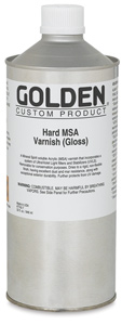 Hard MSA Varnish - Gloss, 32&amp;nbsp;oz