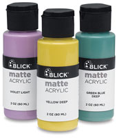 Blick Matte Acrylics