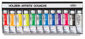 Designer Set of 12 Colors, 15 ml Tubes