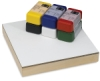 Opaque Colors, Set of 6 Cakes