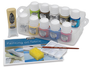 Pebeo Setacolor Fabric Paint,SetaColor Atelier Workbox Set