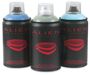 Alien Spray Paint, Super Skinny (White) cap not included