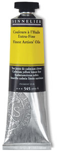 Cadmium Yellow Lemon Hue, 40&amp;nbsp;ml Tube