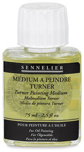 Turner Painting Medium, 75 ml Bottle