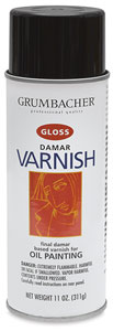 Damar Varnish, Gloss