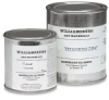 237 ml Can, Flake White and 473 ml Can, Titanium Zinc White