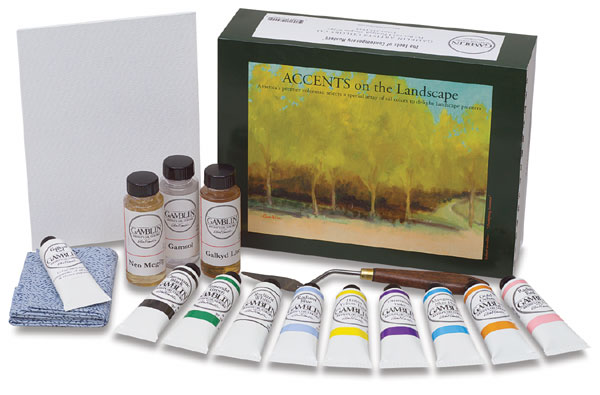 Accents on the Landscape Gift Set