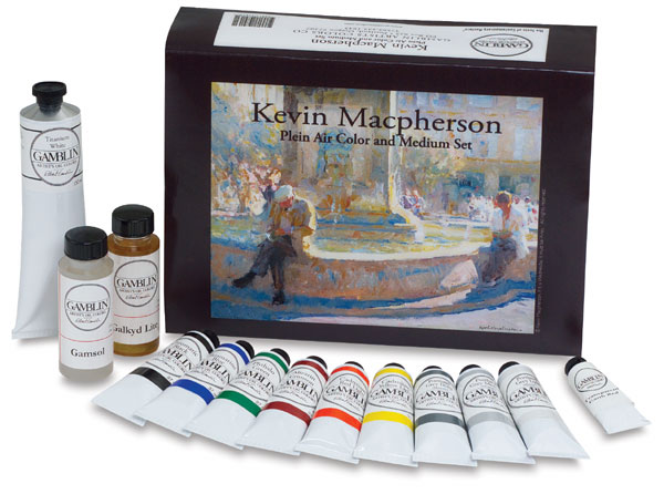 Kevin Macpherson Oil Color & Medium Set