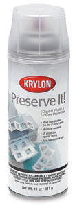 Preserve It Spray, Gloss Finish