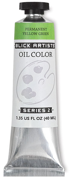 Permanent Yellow Green, 40 ml Tube