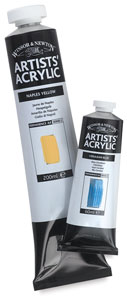 Artists&#39; Acrylic, 200 ml and 60 ml tube