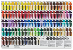 Golden Artist Colors Tint and Glaze Poster