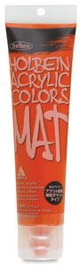 Mat Acrylic, Vermilion Hue