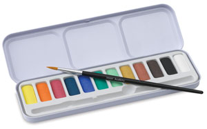 Academy Watercolor Pan Set