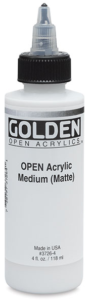 Acrylic Medium, Matte, 4 oz Bottle