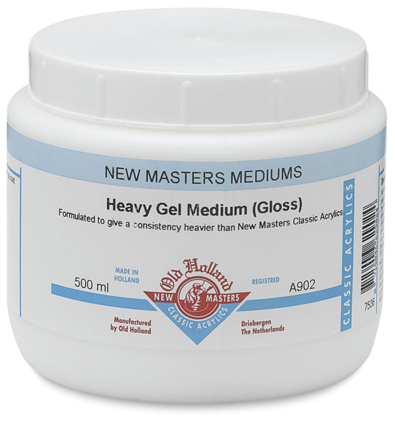 Heavy Gel Medium, Gloss